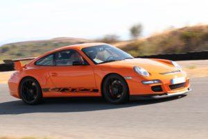 Sortie circuit une vraie Porsche G T 3 R S
