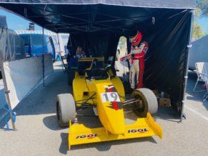 Les sorties circuits JB EMERIC c'est aussi en monoplace. La voiture vainqueur de sa catégorie sur la course de côte du circuit du Luc le 15 août 2 020.