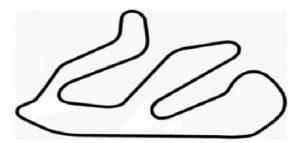 Sortie circuit sur le circuit de Ledenon tracé de 3.1 Km