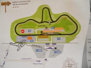 Circuit de Dijon-Prenois dans le département 21. Sortie circuit le 1er juillet 2 021.