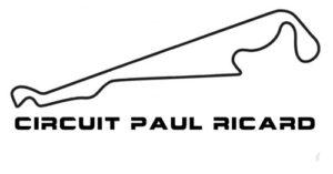 Sortie circuit le circuit Paul Ricard tracé 5.8 Km