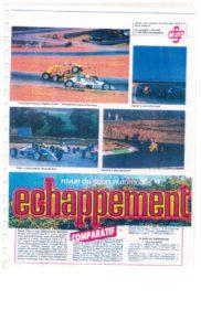 Echappement la revus N° 1 en sport automobile parle de JB EMERIC; cHAQUE MOIS DES R2SUM2S DES COURSES EN cHAMPIONNAT DE fRANCE
