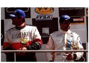 3è place à Dijon avec Philippe Haezebrouck qui a participé 4 fois aux 24 H du Mans
