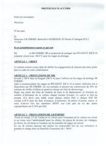 Les conditions pour la copropriété sur la Peugeot 206 S 16 chez JB EMERIC