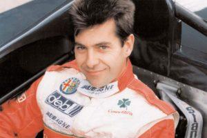 Portrait de JB EMERIC par Daniel Delien dans le sport Prototype Alfa Roméo.