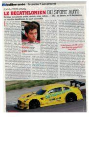 La saison 2 016 avec un bel article de Renè Martorell dans Echappement magazine