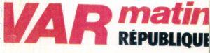 Var Matin sponsor de JB EMERIC monte des opérations de communication avec le pilote automobile.