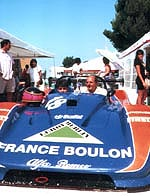 Richard Solinas France Boulon au volant du Sport Prototype
