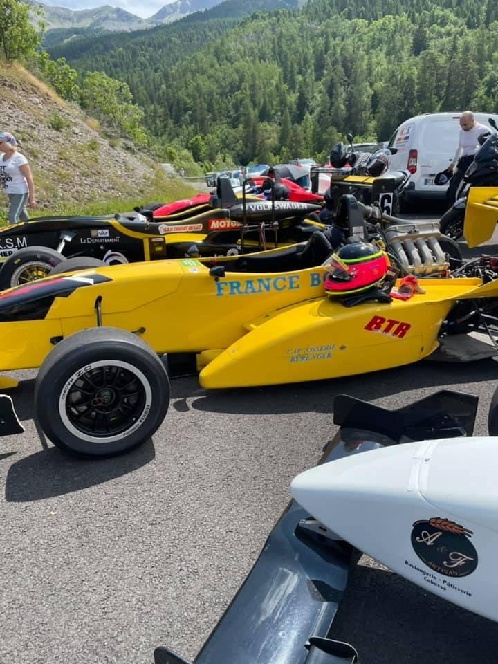 Course de côte de Barcelonnette le 25 juillet 2 021. JB EMERIC en caméra embarquée avec la monoplace de stages de pilotage. A vendre actuellement à 19 000 € donc un budget abordable pour courir avec une vraie voiture de course.